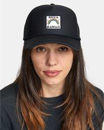 0 Aloha Rainbow TRUCKER HAT  AVJHA00106 RVCA