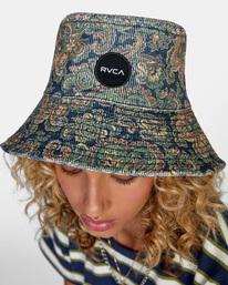 1 Low Down Bucket Hat Blue AVJHA00118 RVCA