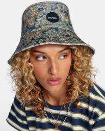 3 Low Down Bucket Hat Blue AVJHA00118 RVCA