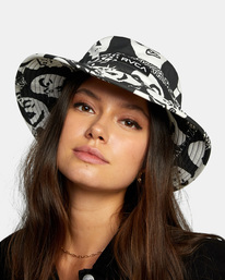 3 Two Faced Bucket Hat  AVJHA00119 RVCA