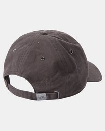 6 Camille Rowe | Camille Dad Hat Black AVJHA00121 RVCA