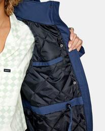 3 Green Valley Parka Jacket Blue AVJJK00127 RVCA