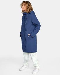 6 Green Valley Parka Jacket Blue AVJJK00127 RVCA