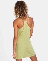 1 Save It Dress Green AVJKD00112 RVCA