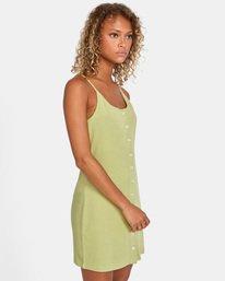 3 Save It Dress Green AVJKD00112 RVCA
