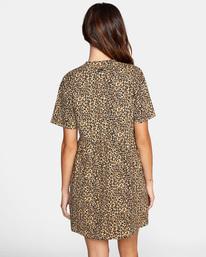 1 City Vibes Mini Dress Beige AVJKD00122 RVCA