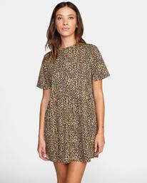 0 City Vibes Mini Dress Beige AVJKD00122 RVCA