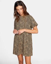 4 City Vibes Mini Dress Beige AVJKD00122 RVCA