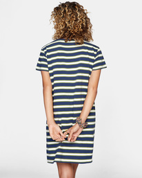 1 Jumpstart T-Shirt Dress Blue AVJKD00124 RVCA