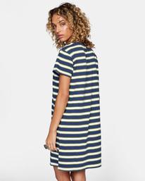5 Jumpstart T-Shirt Dress Blue AVJKD00124 RVCA