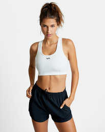 0 VA ESSENTIAL SPORTS BRA White AVJKT00131 RVCA