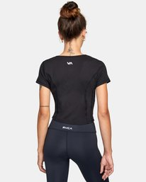 1 Cap Sleeve Top Black AVJKT00136 RVCA