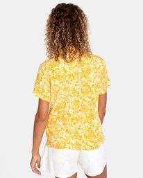 2 Tonal Top Yellow AVJKT00143 RVCA