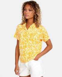 4 Tonal Top Yellow AVJKT00143 RVCA