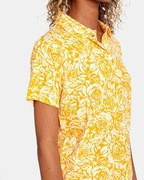 5 Tonal Top Yellow AVJKT00143 RVCA