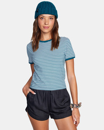 0 Sure Thing Tee Multicolor AVJKT00153 RVCA