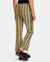 6 Kickback Pant Yellow AVJNP00127 RVCA
