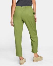 5 New Yume Beach Pants Green AVJNP00131 RVCA