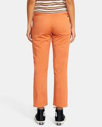 1 Weekend Stretch Chino Pants Multicolor AVJNP00132 RVCA