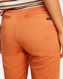 7 Weekend Stretch Chino Pants Multicolor AVJNP00132 RVCA