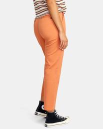 5 Weekend Stretch Chino Pants Multicolor AVJNP00132 RVCA