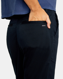 7 Weekend Stretch Chino Pants White AVJNP00132 RVCA