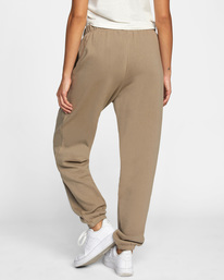 1 Retro Sweatpants Grey AVJNP00139 RVCA