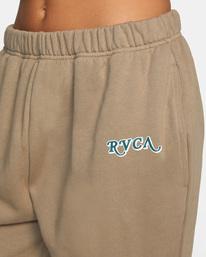 2 Retro Sweatpants Grey AVJNP00139 RVCA