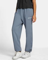 4 Little RVCA Sweatpants Blue AVJNP00140 RVCA