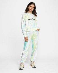 3 WoBig RVCA Sweatpant Green AVJNP00153 RVCA