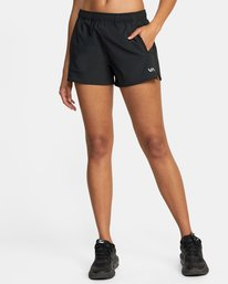 0 YOGGER PERF STRETCH SPORT SHORT Black AVJNS00123 RVCA