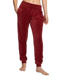 8 DAY OFF SWEATPANT Red AVJPT00100 RVCA