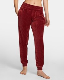 1 DAY OFF SWEATPANT Red AVJPT00100 RVCA