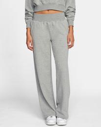 0 Rise Up Lounge Pants Grey AVJPT00108 RVCA