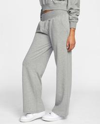 4 Rise Up Lounge Pants Grey AVJPT00108 RVCA