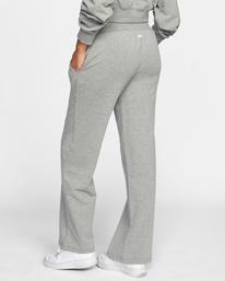 5 Rise Up Lounge Pants Grey AVJPT00108 RVCA