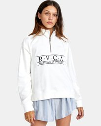 0 CONSTRUCTED FLEECE White AVJSF00145 RVCA