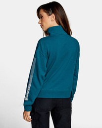2 La 84 Quarter Zip Sweatshirt Multicolor AVJSF00156 RVCA