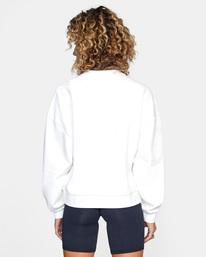 2 Cambridge Crewneck Sweater White AVJSF00158 RVCA