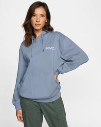 0 Little RVCA Hoodie Blue AVJSF00161 RVCA