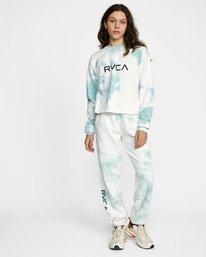 2 BIG RVCA CREW Blue AVJSF00186 RVCA