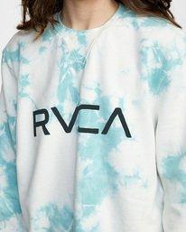 7 BIG RVCA CREW Blue AVJSF00186 RVCA