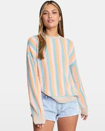 1 Space Case Sweater Grey AVJSW00116 RVCA