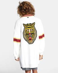 1 Matt Leines   Uprise Cardigan Sweater White AVJSW00121 RVCA