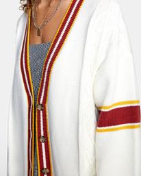 2 Matt Leines   Uprise Cardigan Sweater White AVJSW00121 RVCA