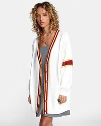 0 Matt Leines   Uprise Cardigan Sweater White AVJSW00121 RVCA