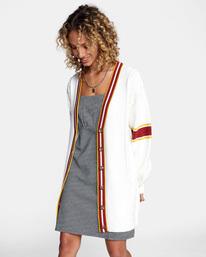 5 Matt Leines   Uprise Cardigan Sweater White AVJSW00121 RVCA