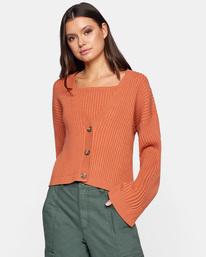 0 Charmed Cardigan Sweater Multicolor AVJSW00122 RVCA