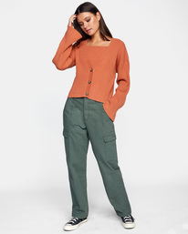 3 Charmed Cardigan Sweater Multicolor AVJSW00122 RVCA