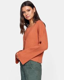 4 Charmed Cardigan Sweater Multicolor AVJSW00122 RVCA